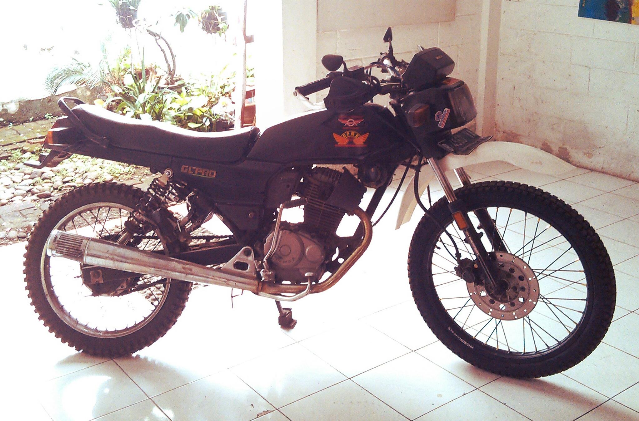 Modifikasi Ringan Honda Gl Pro Ala Trail Wanna Be Rianto Isaac S
